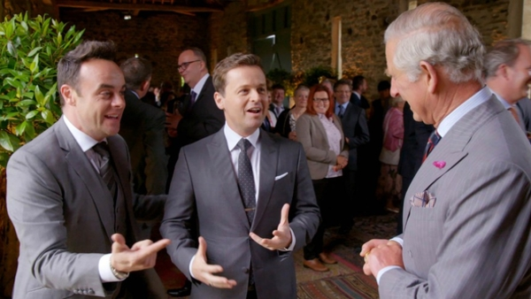ITV, Ant and Dec, When Ant and Dec Met the Prince: 40 Years of the Prince's Trust, entertainment, live, show,