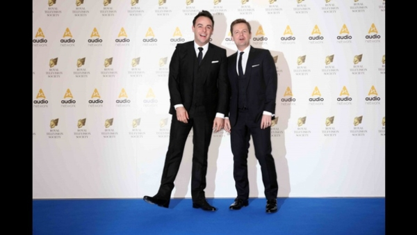 Ant and Dec at the RTS Programme Award 2016