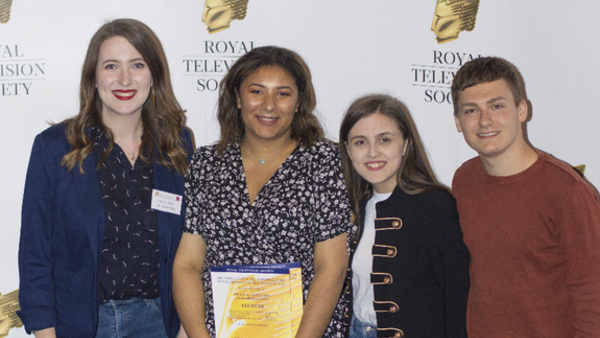 From left: Victoria Griffin, Francesca Colpitts-Swaby,  Kia Pegg and Connor Lawson (Credit: Aine Dvileviciute)