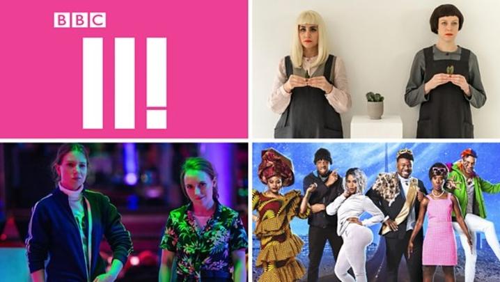 Clockwise: Ellie & Natasia, Famalam, Lazy Susan (credit: BBC)