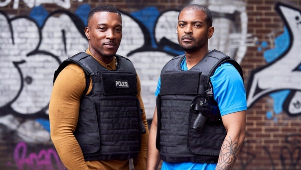 Ashley Walters and Noel Clarke (Credit: Sky)