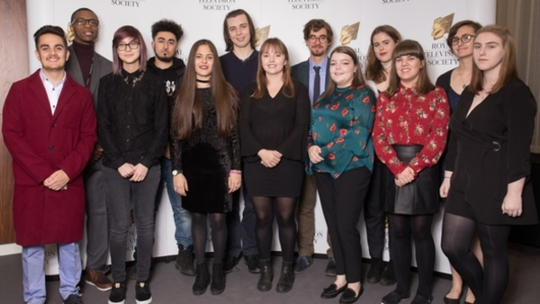 The 2017 RTS Bursary Students (Credit: Paul Hampartsoumian)