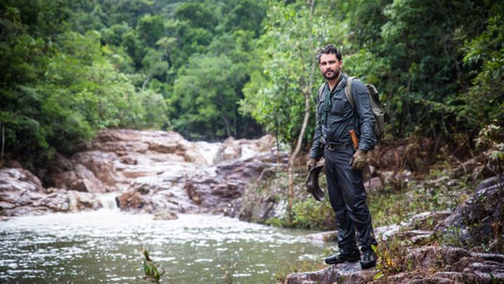 Levison Wood walks through Central America (Credit: Simon Buxton / Channel 4)