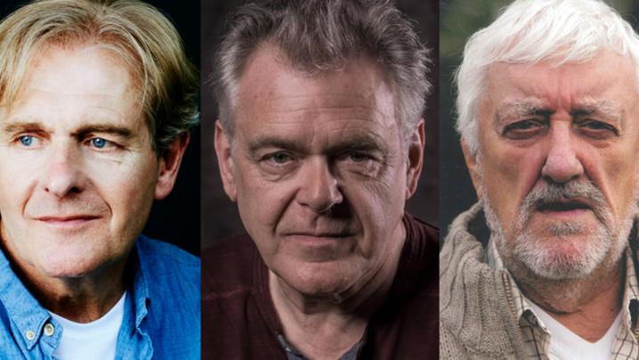 Robert Bathurst, Kevin R. McNally and Bernard Cribbins (Credit: UKTV/Gold)