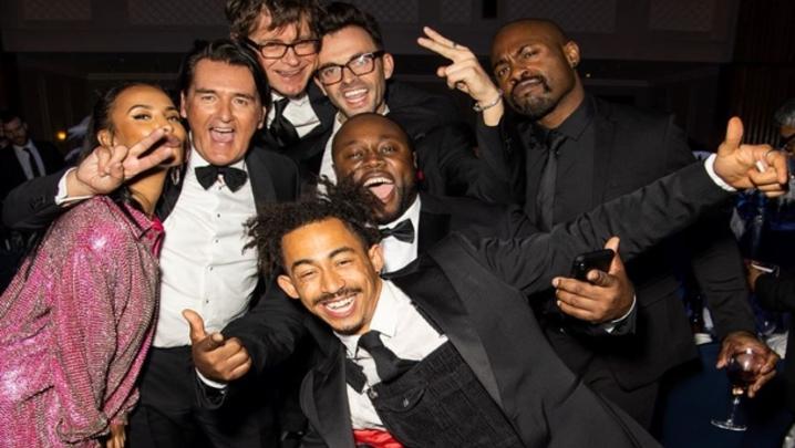 Don't Hate The Playaz at the Royal Television Society Awards (Credit: Paul Hampartsoumian)
