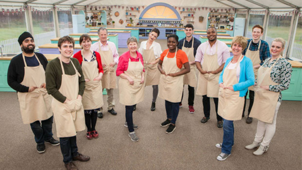 The GBBO cast (Credit: BBC)