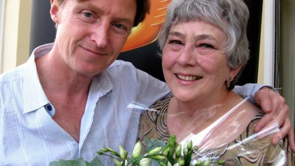 Tim Hartley with Mari Griffith