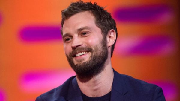 Jamie Dornan on The Graham Norton Show (Credit: BBC)