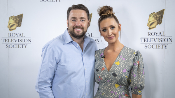 Jason Manford and Catherine Tyldesley (Credit: JesRPB Photography)