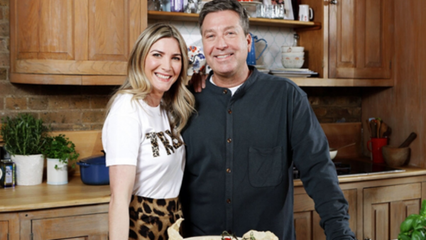 Lisa Faulkner and John Torode (Credit: ITV)