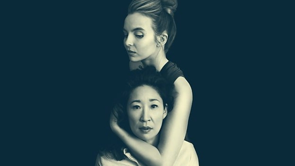 Jodie Comer and Sandra Oh (Credit: BBC)