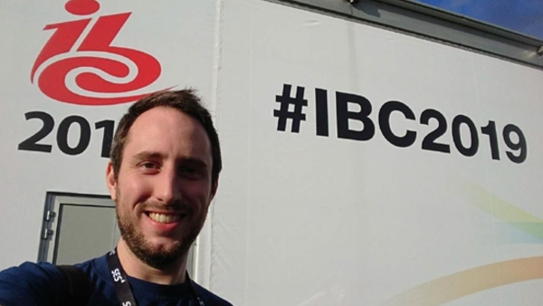Lawrence Card at IBC