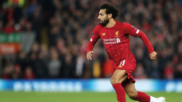 Liverpool's striker Mohamed Salah (credit: AP Photo/Jon Super)