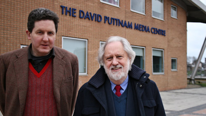 """Geoffrey MacNab (left) & David Puttnam"""