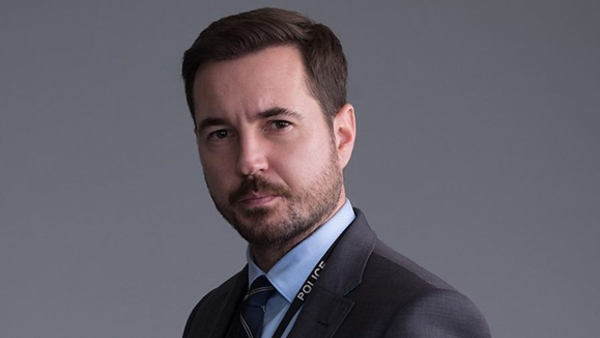 Martin Compston as Steve Arnott in Line of Duty (Credit: BBC)