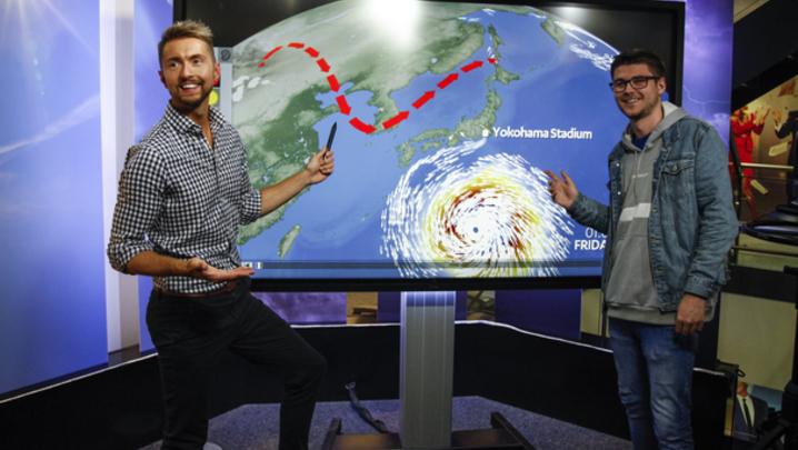 Sean Batty STV's Weather
