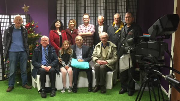 Visit to Made in Cardiff TV