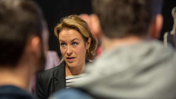 Doctors star Elisabeth Dermot Walsh at the RTS Midlands Careers Fair 2019 (Credit: Nick Robinson)