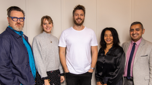 Iain Coyle, Baileigh Walsh, Rick Edwards, Maxine Watson and Sohail Shah (Credit: Paul Hampartsoumian)