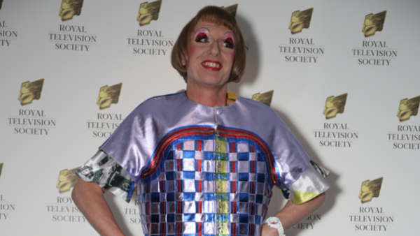 Grayson Perry at the RTS Programme Awards (Credit: Paul Hampartsoumian)