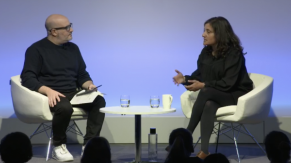 Angela Jain in conversation with Boyd Hilton