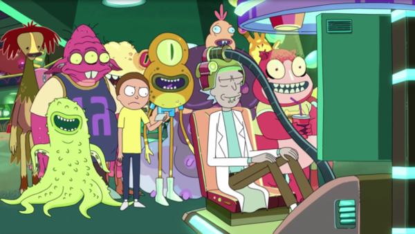 Rick and Morty (Credit: Adult Swim/Fox)