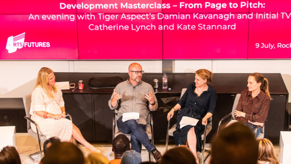 Anna Cronin (Chair), Damian Kavanagh, Catherine Lynch and Kate Stannard (Credit: Paul Hampartsoumian)