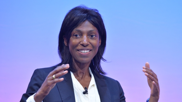 Sharon White speaking at the RTS Cambridge Convention 2019 (Credit: RTS/Richard Kendal)