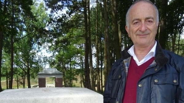 Tony Robinson, Somme, WW1, Discovery