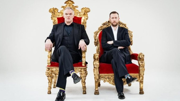 Greg Davies and Alex Horne (Credit: UKTV)