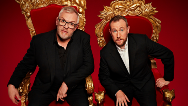 Greg Davies and Alex Horne (Credit: Avalon/Channel 4/Dave/UKTV)