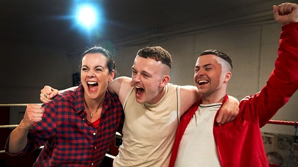 Hilary Rose, Chris Walley and Alex Murphy (Credit: BBC)