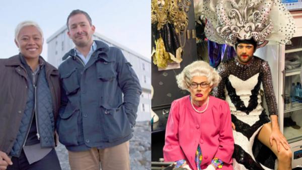 Amazing Hotels (Credit: BBC) and Jack Whitehall Travels With my Father (Credit: Netflix)