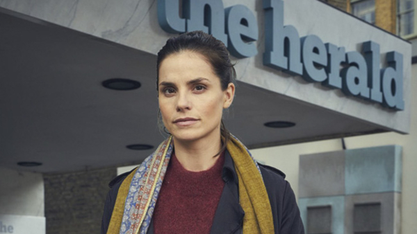 Charlotte Riley stars in Press (Credit: BBC)