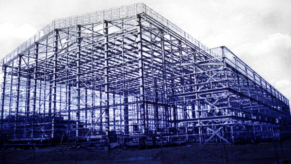 New stages under ­construction at Elstree (Credit: Elstree)