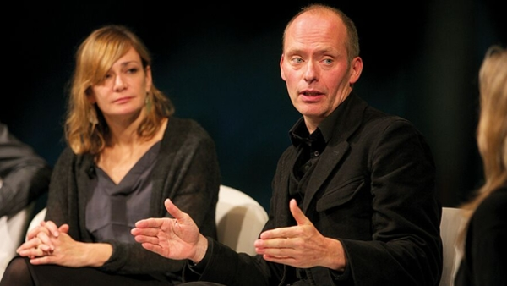 Hugo Blick and Gina Moriarty