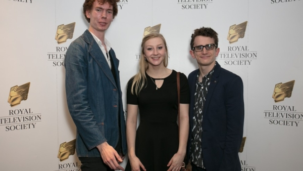 RTS Bursary Students Victor Hampson, Kayleigh Jones and Richard Walker (Credit: Paul Hampartsoumian)