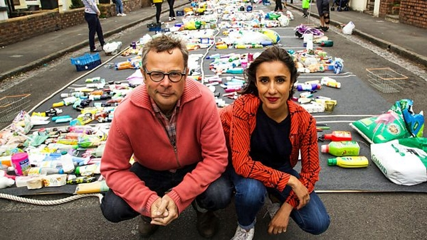 Hugh Fearnley-Whittingstall and Anita Rani (credit: BBC)