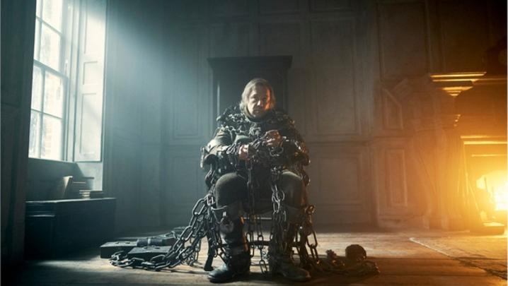 Stephen Graham as Jacob Marley in A Christmas Carol (credit: BBC)