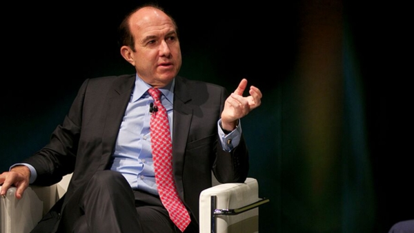 Philippe Dauman at this year's Cambridge Convention