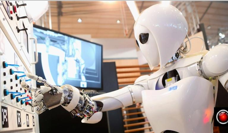 Robot TV engineer