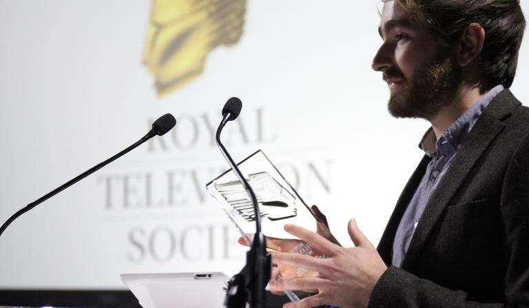 Andy Ashworth - Comedy & Ent winner 2018