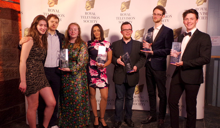 RTS Scotland Student Awards winners