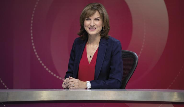 Fiona Bruce (Credit: BBC)