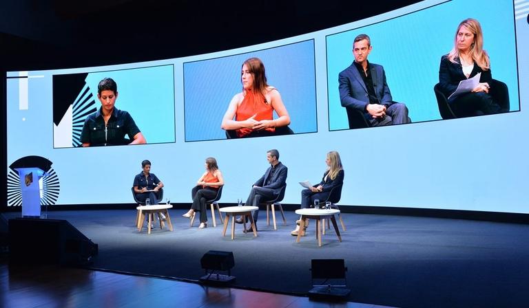 From left: Naga Munchetty, Marianna Spring, Matthew Price and Deborah Turness (credit: Richard Kendal)