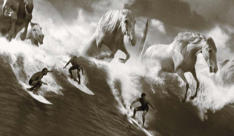 The classic Guinness surfers advert (Credit: Guinness)