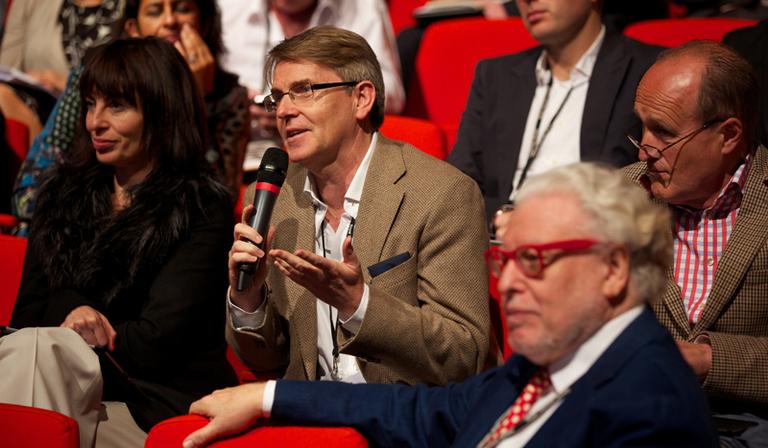 John Hardie, ITN, RTS, Cambridge