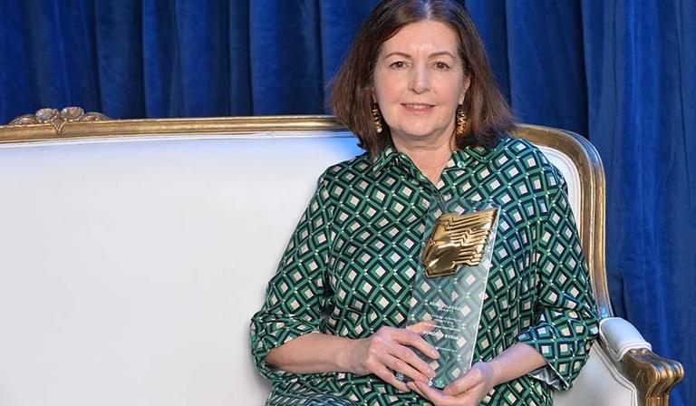 Dorothy Byrne at the 2018 Television Journalism Awards (Credit: RTS/Richard Kendal)
