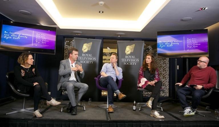 Nerys Evans, Simon Lupton, Gregor Sharp, Jessica Knappett and Boyd Hilton