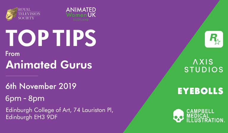 Top Tips from Animated Gurus
